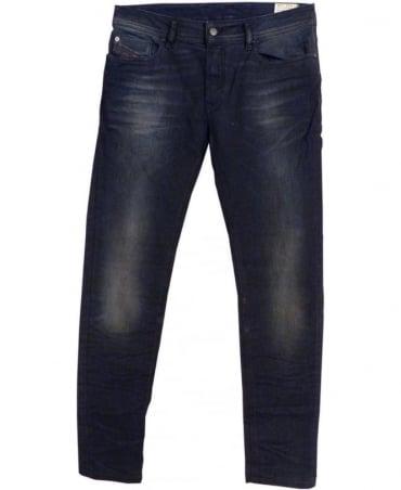 Diesel Dark Wash Sleenker Slim Skinny Jeans