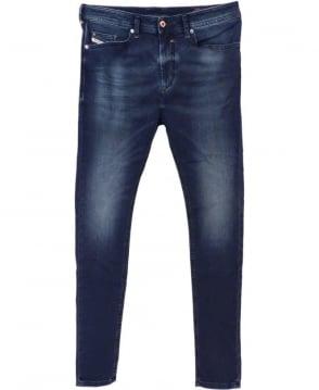 Diesel Dark Wash Spender Skinny Fit Jogg Jeans