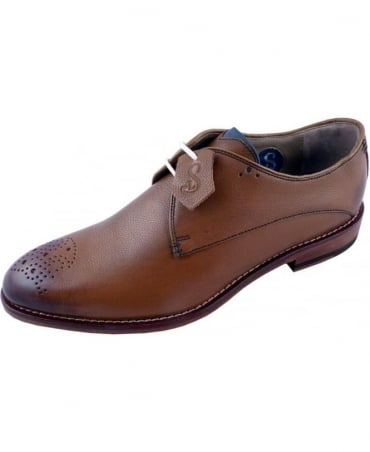 Oliver Sweeney Darley Tan Lace Up Shoe