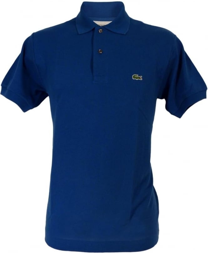Lacoste Delta Blue Classic L.12.12 Polo Shirt