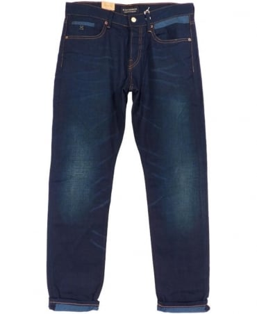 Scotch & Soda Denim Blue Ralston Moonstruck Jeans