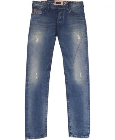 Armani Jeans Denim Blue Slim Fit Low Waist J28 Jeans