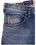 Armani Jeans Denim Blue Slim Fit Low Waist J28 Jeans