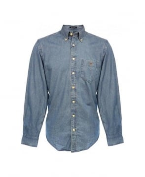 Gant Denim Upper East Indigo Shirt