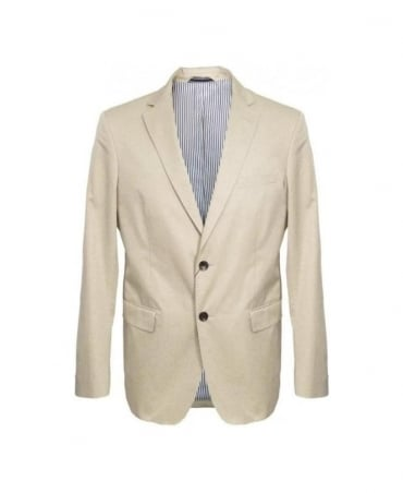 Gant Dry Sand Twill Blazer Jacket 76765
