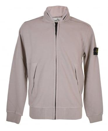 Stone Island Dusky Pink 63020 Concealed Hood Sweatshirt
