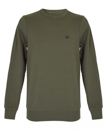 Dusty Olive Metal Horseshoe Sweatshirt