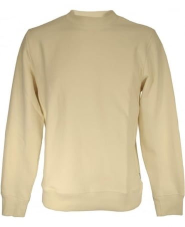 PS by Paul Smith Ecru Crew Neck Sweatshirt