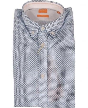 Hugo Boss 'EdipoE' Patterned Slim fit Shirt