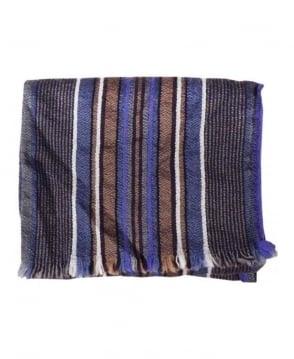 Paul Smith - Accessories Elephant Grey Stripe Scarf