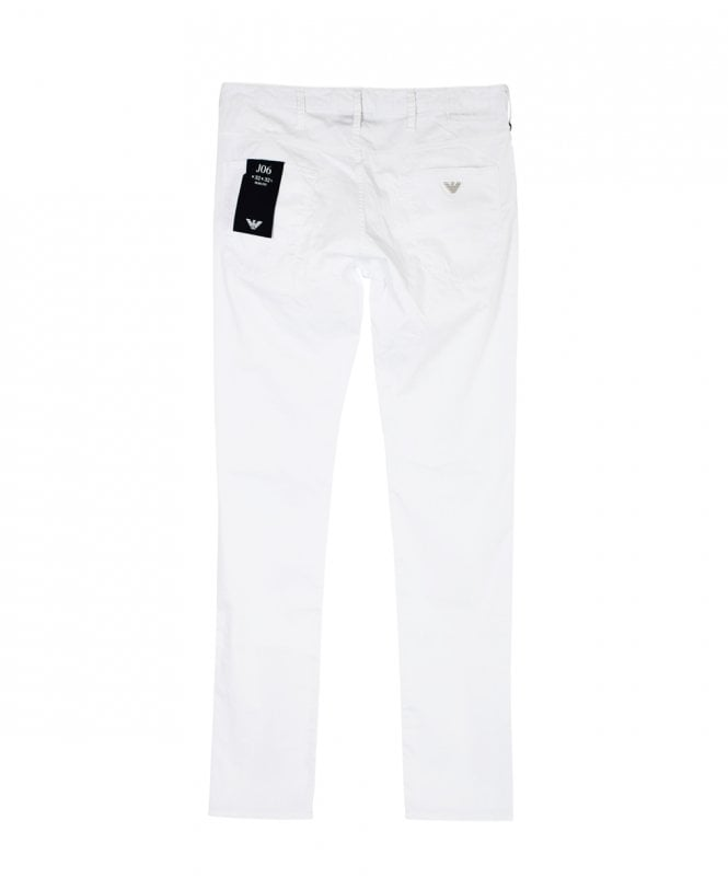 1f7bc88a White J06 Slim Fit Jeans