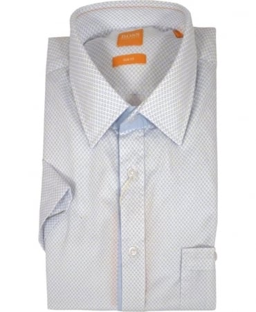 Hugo Boss 'EslimyE' Slim Fit Short Sleeved Shirt
