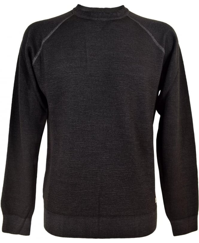 CP Company Faded Black Crew Neck 1118004 Jumper