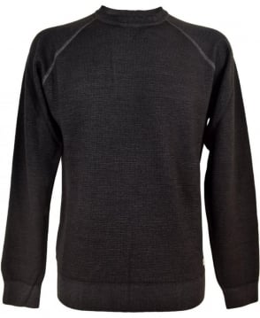 C.P. Company Faded Black Crew Neck 1118004 Jumper