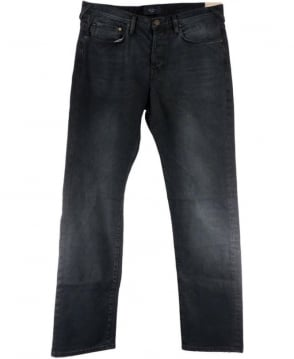 Paul Smith - Jeans Faded Black JMFJ/400M/606 Button Fly Standard Fit Jeans