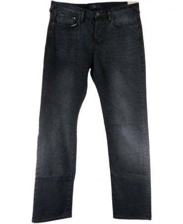 Paul Smith - Jeans Faded Black JMFJ/400M/606 Button Fly Standard Fit Jeans