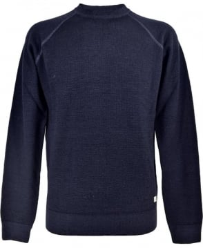 C.P. Company Faded Dark Blue Crew Neck 1118004 Jumper