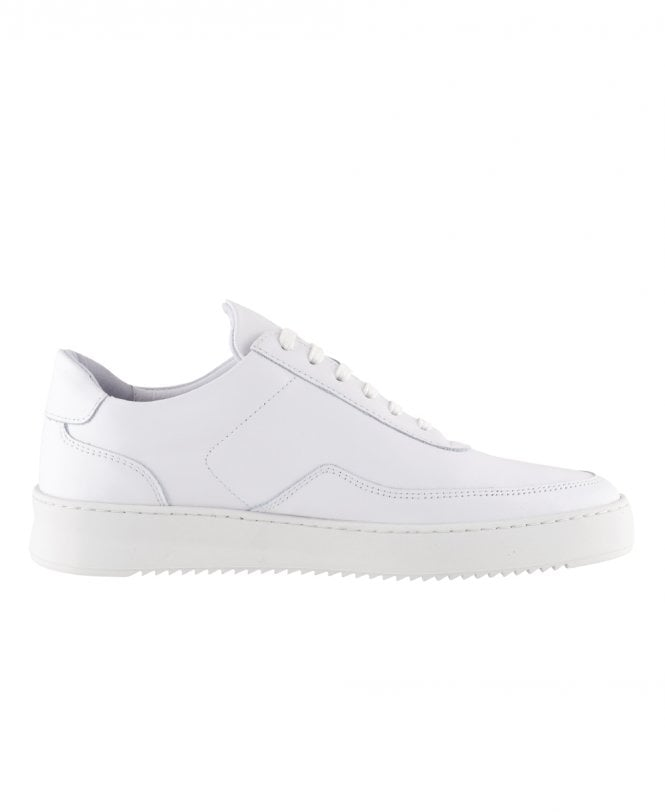 8c0c47c5d733a3 Filling Pieces White Low Mondo Nardo Nappa Shoes - Shoes from ...