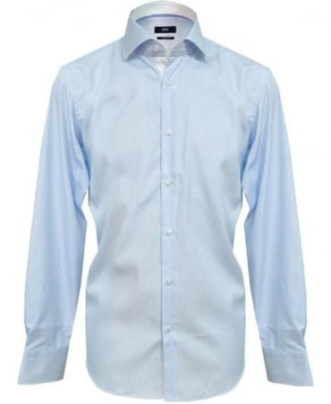Hugo Boss Fine Blue Stripe Eraldin Shirt 50260255