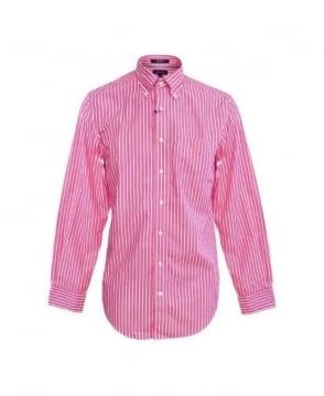 Gant Flamingo Pink The Breton Shirt 307530