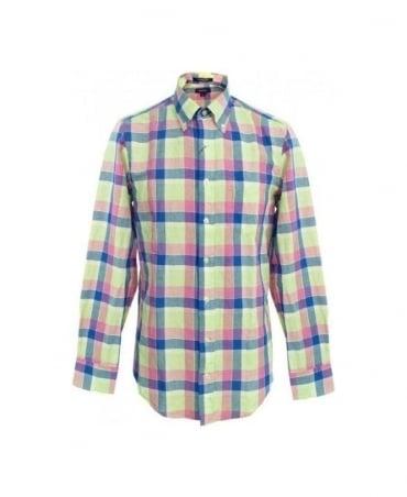 Gant Garden Green Nantucket Linen Shirt 349210