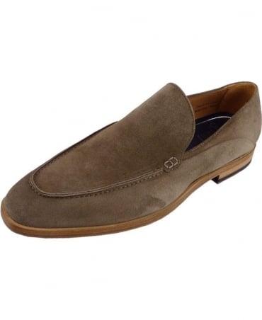 Oliver Sweeney Genoa Sand Suede Slip-On Shoe