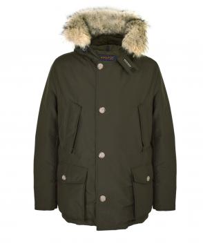 Woolrich Green Arctic Anorak Coat