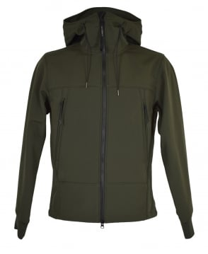 C.P. Company Green C.P. Shell Sweatshirt Jacket