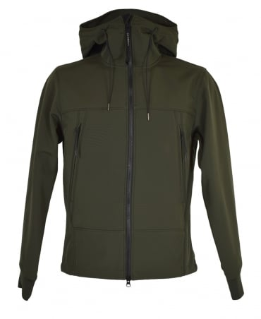 C.P. Company Green C.P. Shell Sweatshirt Jacket