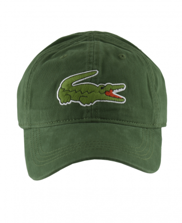 Green Cap With Oversized Crocodile