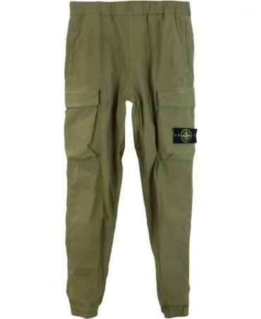 Stone Island Green Combat Trousers