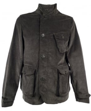 Baracuta Green Corduroy Three Pocket Jacket