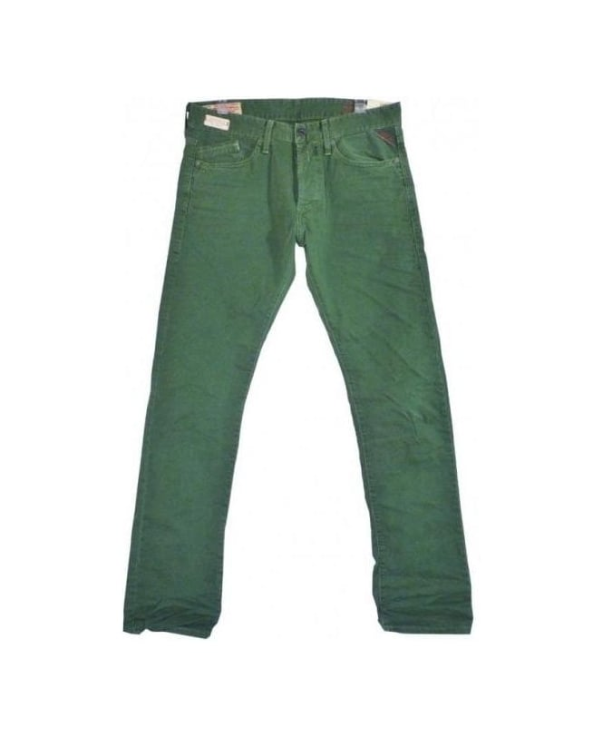Replay Green Laserblast Waitom Jean