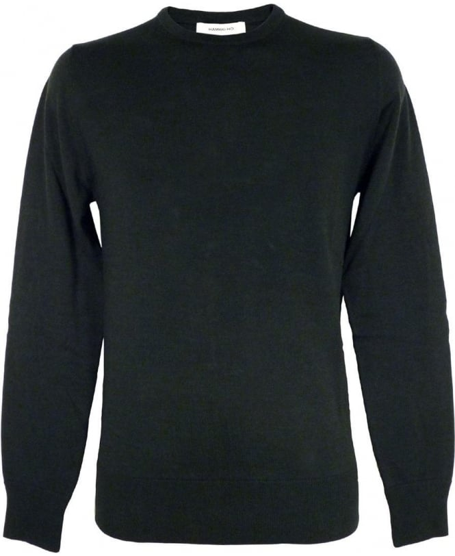 Hamaki-Ho Green MT1488 Crew Neck Knitwear