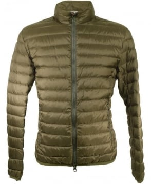 Colmar Originals Green MU 1279 1MQ Full Zip Arm Logo Down Jacket