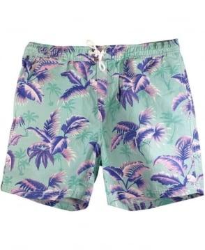 Scotch & Soda Green & Pink 84256 Swim Shorts