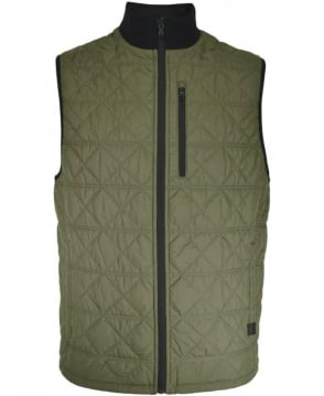 Victorinox Green Quilted M30048 Gilet