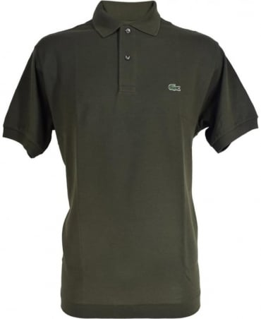 Lacoste Green Short Sleeve L1212 Polo Shirt