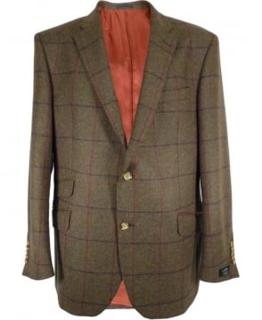 Gerard Connolly Green Tweed Richard Double Vent Jacket
