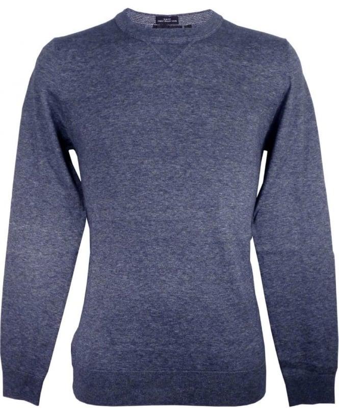 Hugo Boss Grey 50298701 Edion Crew Neck Knitwear