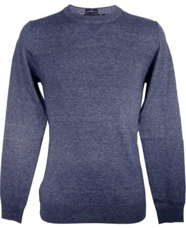 Hugo Boss Grey 50298701 Edion Crew Neck Knitwear