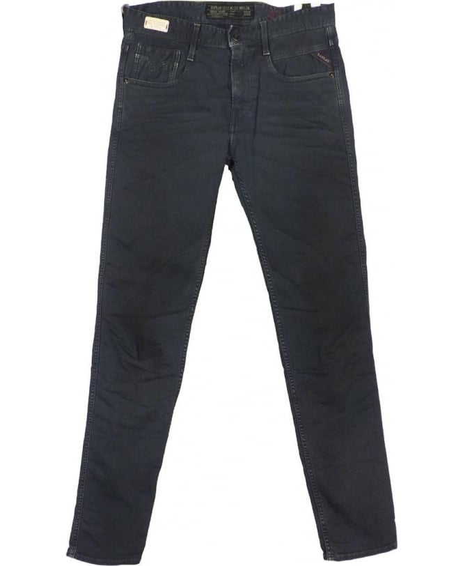 Replay Grey Anbas Slim Fit Jeans