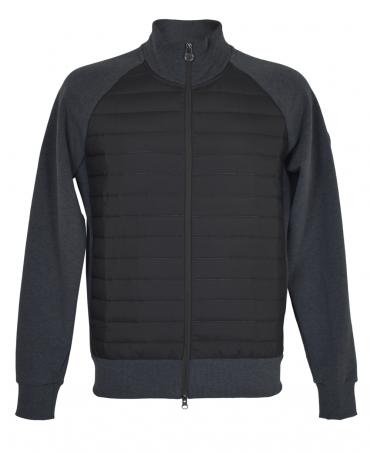 Colmar Originals Grey And Black Cybernetic Bubble Sweatshirt
