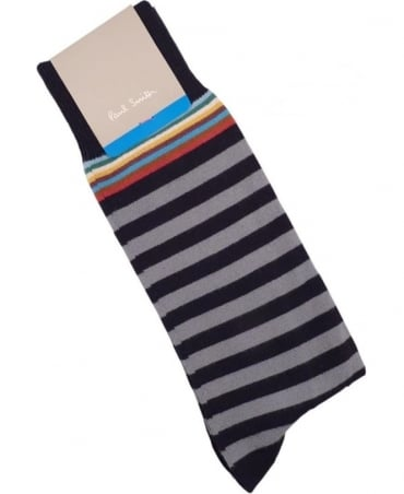 Grey APXA-380A-F602 Multi Top Socks