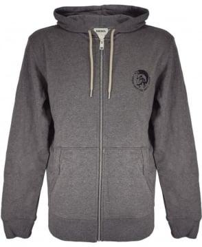 Diesel Grey 'Brandon' Hooded Sweatshirt