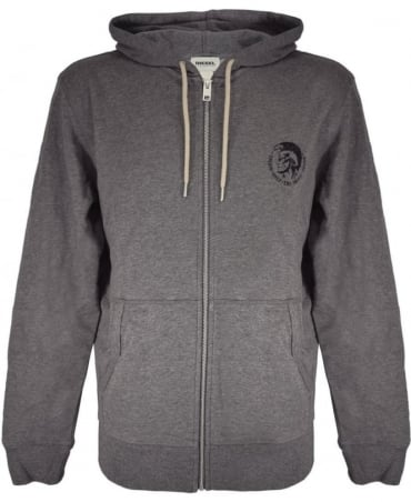 Diesel Grey 'Brandon' Hooded Sweatshirt