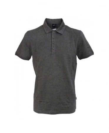 Hugo Boss Grey Bugnara Polo