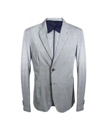 Hamaki-Ho Grey Check GA406H 2 Vent Jacket