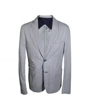 Hamaki-Ho Grey Check Pattern 283 Jacket