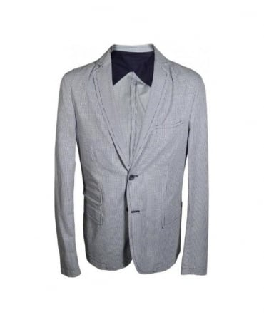 Hamaki-Ho Grey Check Pattern 283 Jacket
